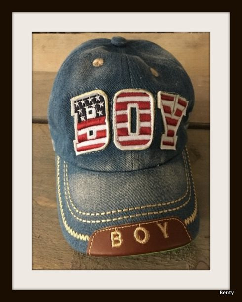 Baseball Cap - Denim Look - licht