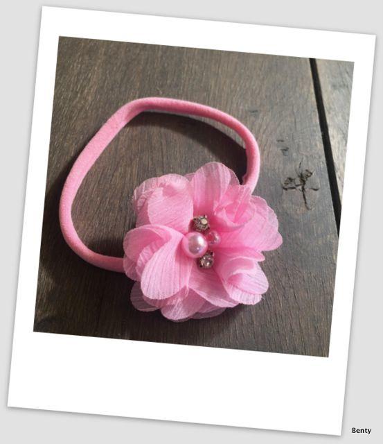 Benty haarbandje - All pink
