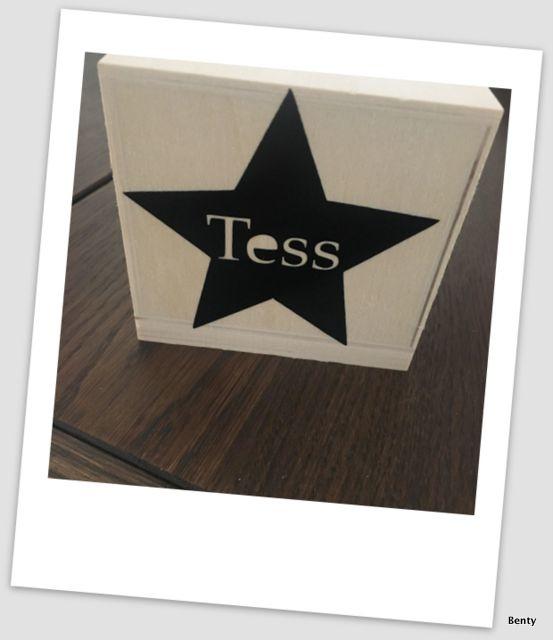 Spaarpotje met naam - Tess Star