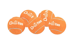 DOGGY FUN BALLS 5-PACK