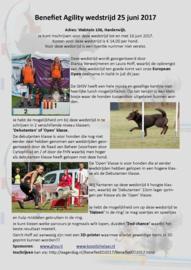 Benefiet Agility wedstrijd GHSV Harderwijk (zondag 25 juni 2017)