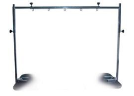 Verstelbare Dubbele Tafelbeugel 90 - 120 cm