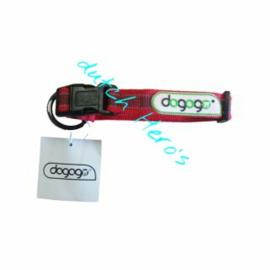 Dogogo Halsband (30 -  45cm) (verstelbaar)