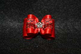 Strikje luxe rood