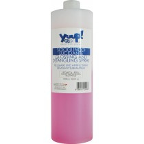 YUUP! Glossing and Detangling Spray 1 liter, REFILL (Professional)