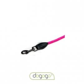 Dogogo touw hondenlijn zonder handvat, 12 mm, roze