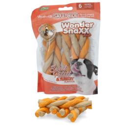 Wonder Snaxx Twists zoete aardappel en kalkoen