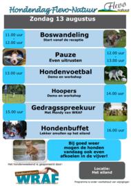 Hondendag Flevo Natuur, Zeewolde (13 augustus 2017)