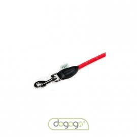 Dogogo touw hondenlijn zonder handvat, 12 mm, rood