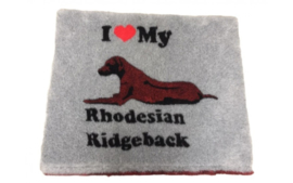 dutch Hero's Vet Bed Rodesian Ridgeback, anti-slip