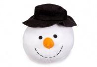 Sneeuwpopbal met pieper (13 cm)
