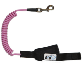 K9 Coil Leash Large Pink