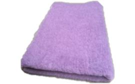 Vet Bed met anti-sliplaag (Lila)