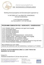 Rasloze Hondendag (14 oktober 2017) DogCenter Kerkwijk
