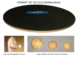 FitPAWS 90 cm Wobble Board