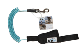 K9 Coil Leash Large Turquoise