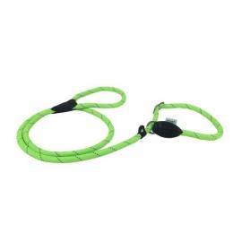 Dogogo retriever hondenlijn 150 cm x 12 mm, groen (Moxonlijn)