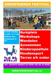 Zwerfdieren Festival, Geffense Plas, Oss (Maandag 17 april 2017 (2e Paasdag))