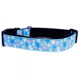 Cat collar Bule/Butterfly