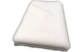 Vet Bed met anti-sliplaag (Wit)
