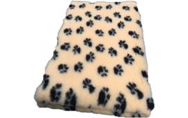 Vet Bed met anti-sliplaag (Geel Zwarte Poot)