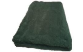 Vet Bed met anti-sliplaag (Donkergroen)