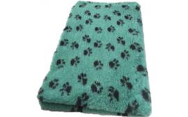 Vet Bed met anti-sliplaag (Groen Zwarte Poot)