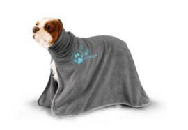 Show Tech+ Dry Dude Grijs Handdoek Voor Honden En Katten