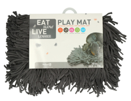 Eat Slow Live Longer - Play Mat grijs (snuffelmat)