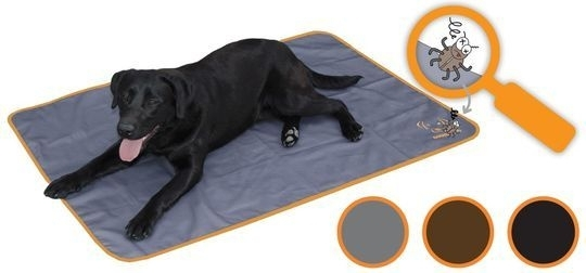 Bodyguard Dog Blanket Black 120x80 IB