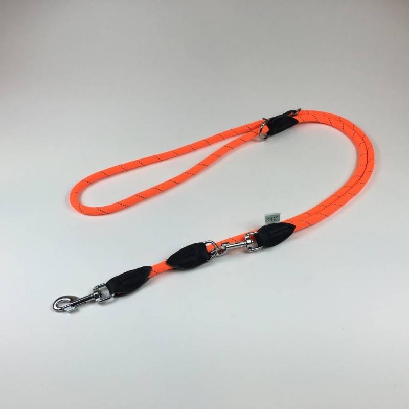 Dogogo verstelbare hondenlijn 12 mm, oranje