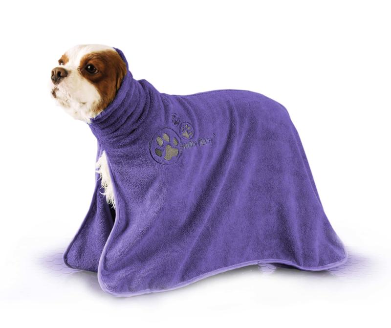 Show Tech+ Dry Dude Paars Handdoek Voor Honden En Katten