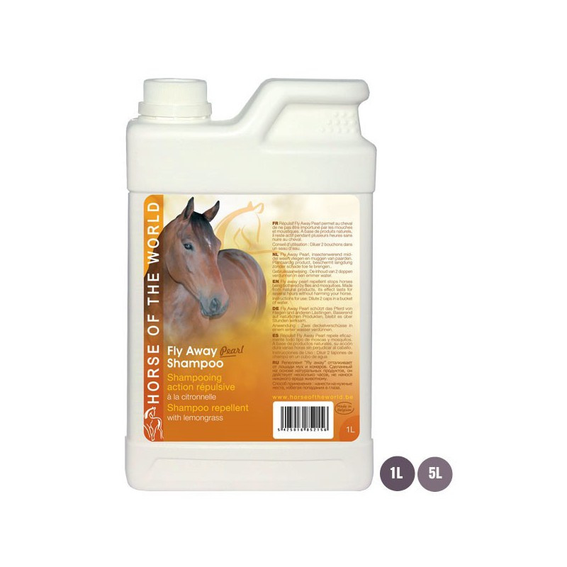 Horse of the world - Fly Away Pearl Shampoo