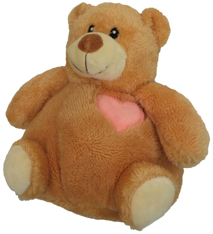 bruine teddybeer (20 cm)