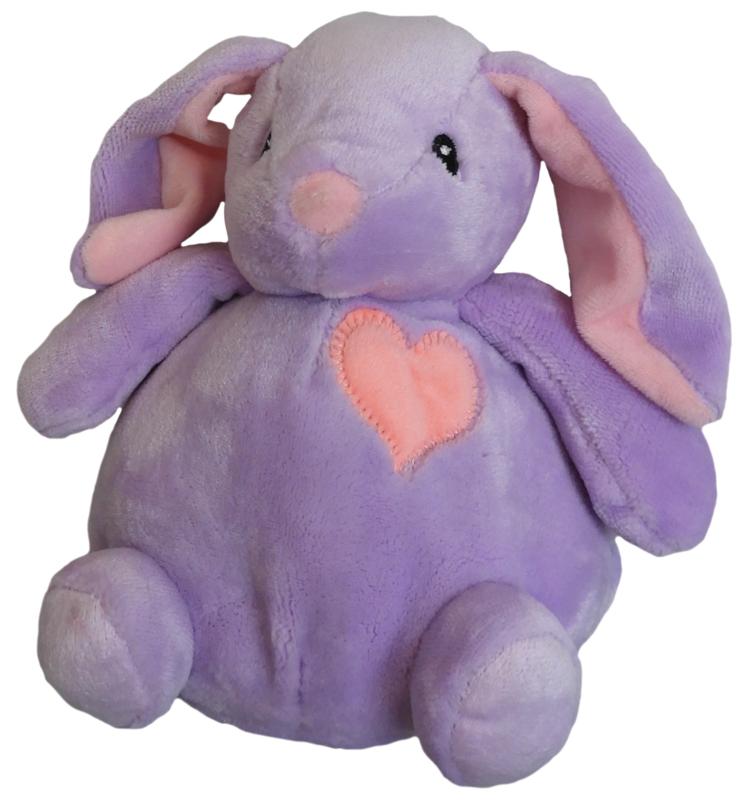 paars konijn (20 cm)