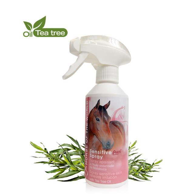 Horse of the world - Sensitive Pearl Spray 250 ml. (Verzorgend)