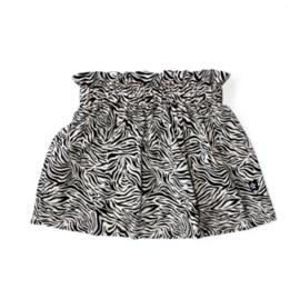 Zebra zand skirt