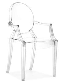 Junior elizabeth stoel transparant