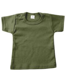 Basic shirt leger groen