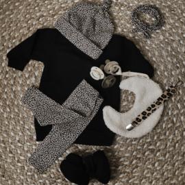 Sweaterdress basic black