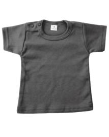 Basic shirt antraciet