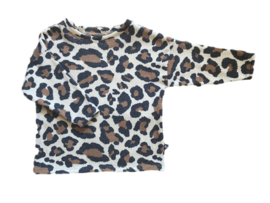Oversized tee - big leopard
