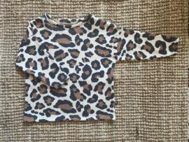 Oversized tee - big leopard