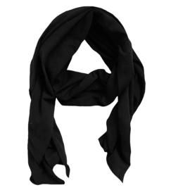 Black basic sjaal