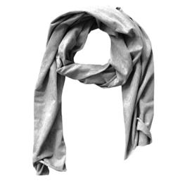 Light grey sjaal
