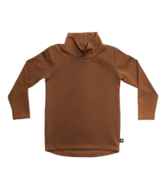 Longsleeve col basic brown