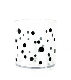 Dots (tuit)beker clear