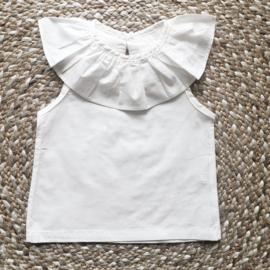 Ruffled blouse dreamy