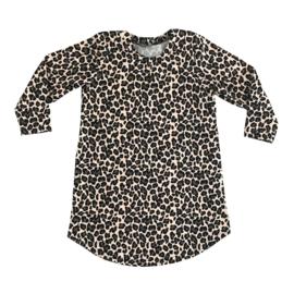 Tuniek leopard beige