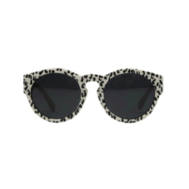 Sunnies ecru leopard small